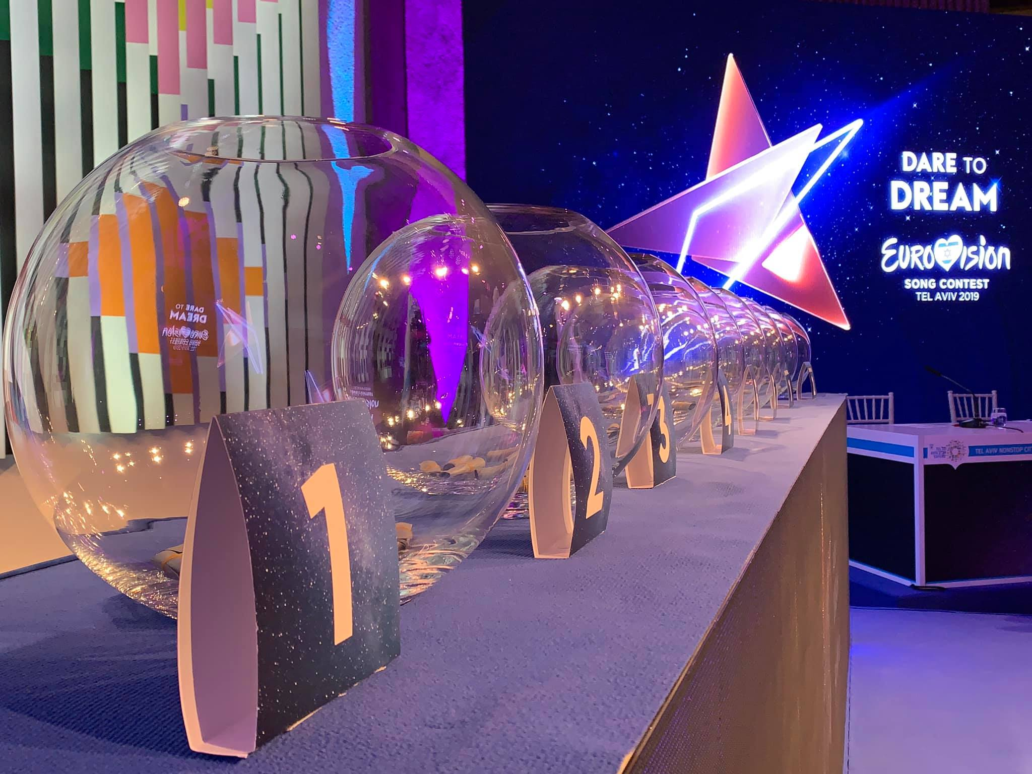 Eurovision 2019 Draw