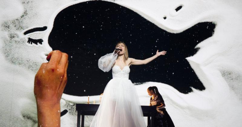 מולדובה בחזרה שנייה: אנה אודובסקו על הבמה