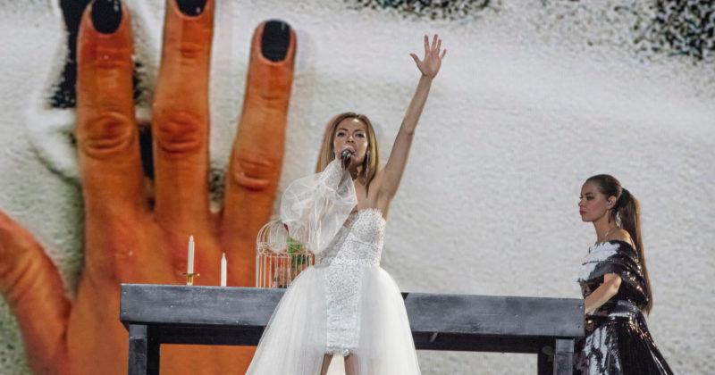 מולדובה בחזרה ראשונה: אנה אודובסקו על הבמה