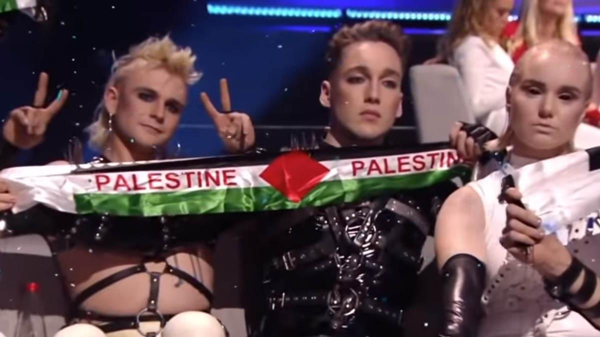 Hatari Iceland 2019 Palestine