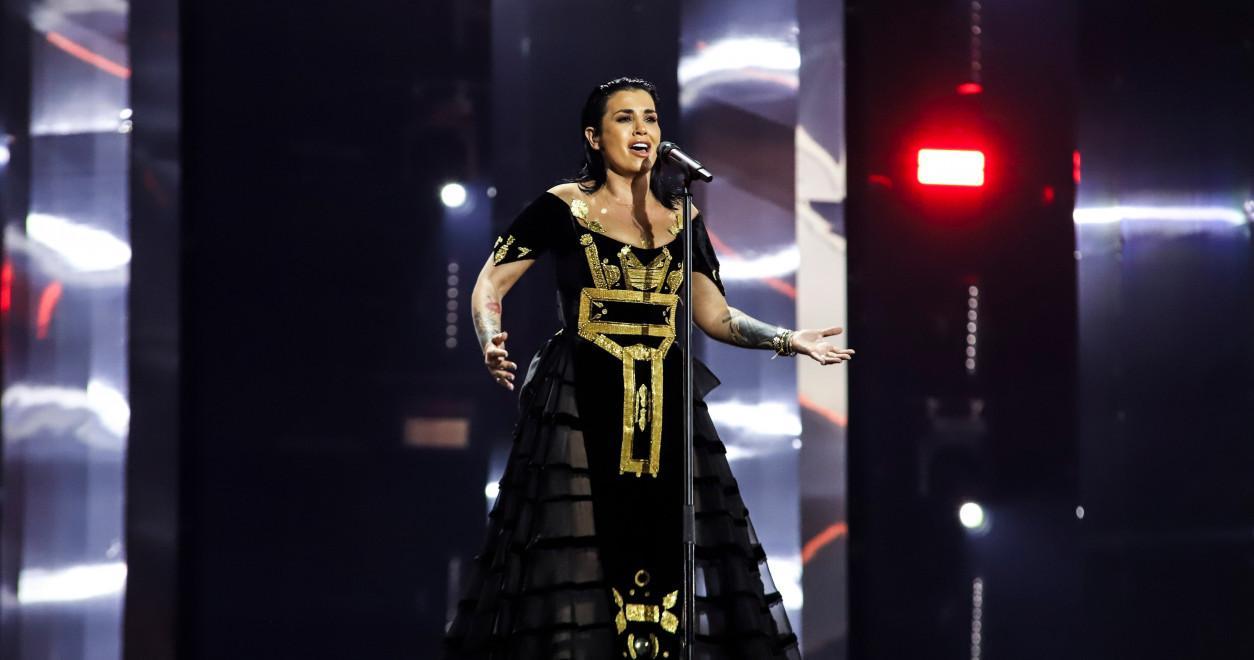 Jonida Maliqi Albania 2019 rehearsal