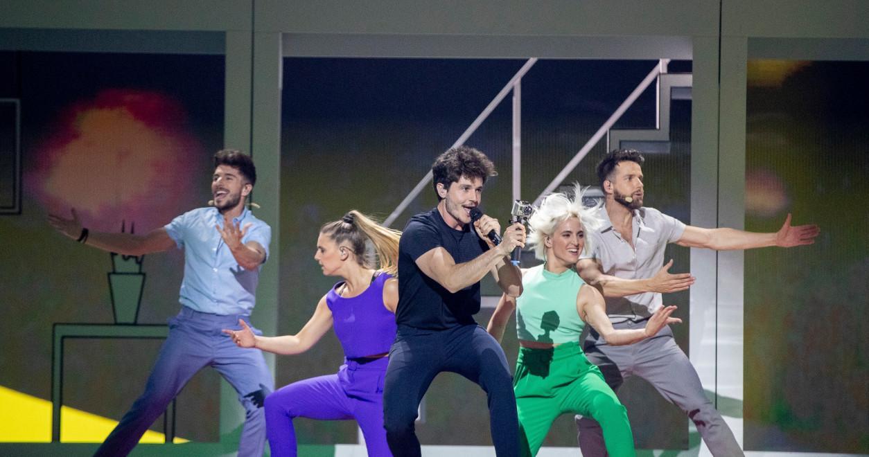 Miki Spain 2019 rehearsal