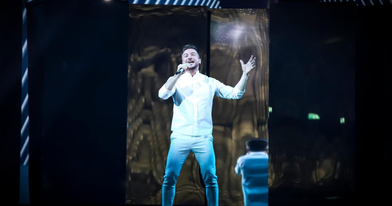 Sergey Lazarev Russia 2019 rehearsal