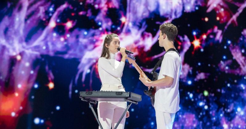 סלובניה בחזרה ראשונה: זאלה וגשפר על הבמה