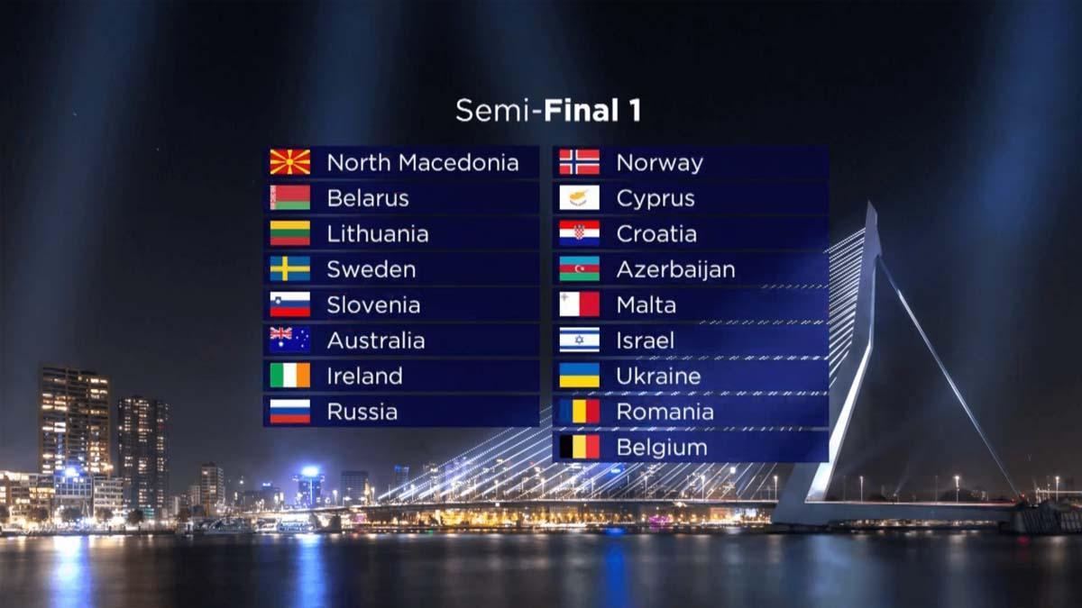 אירוויזיון 2020: ישראל בחלקו השני של חצי הגמר הראשון