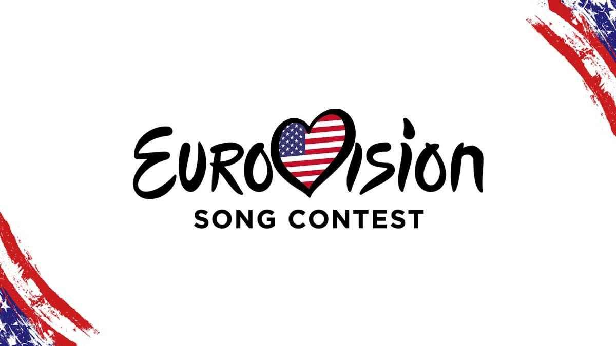 USA Eurovision Flag