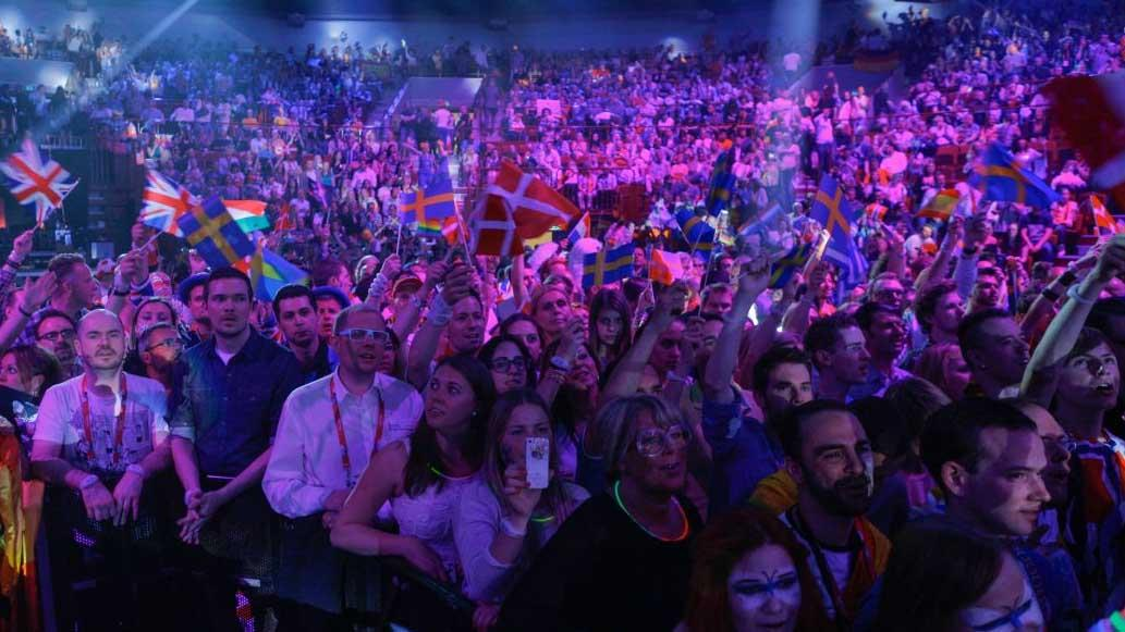 Eurovision Audience Flags