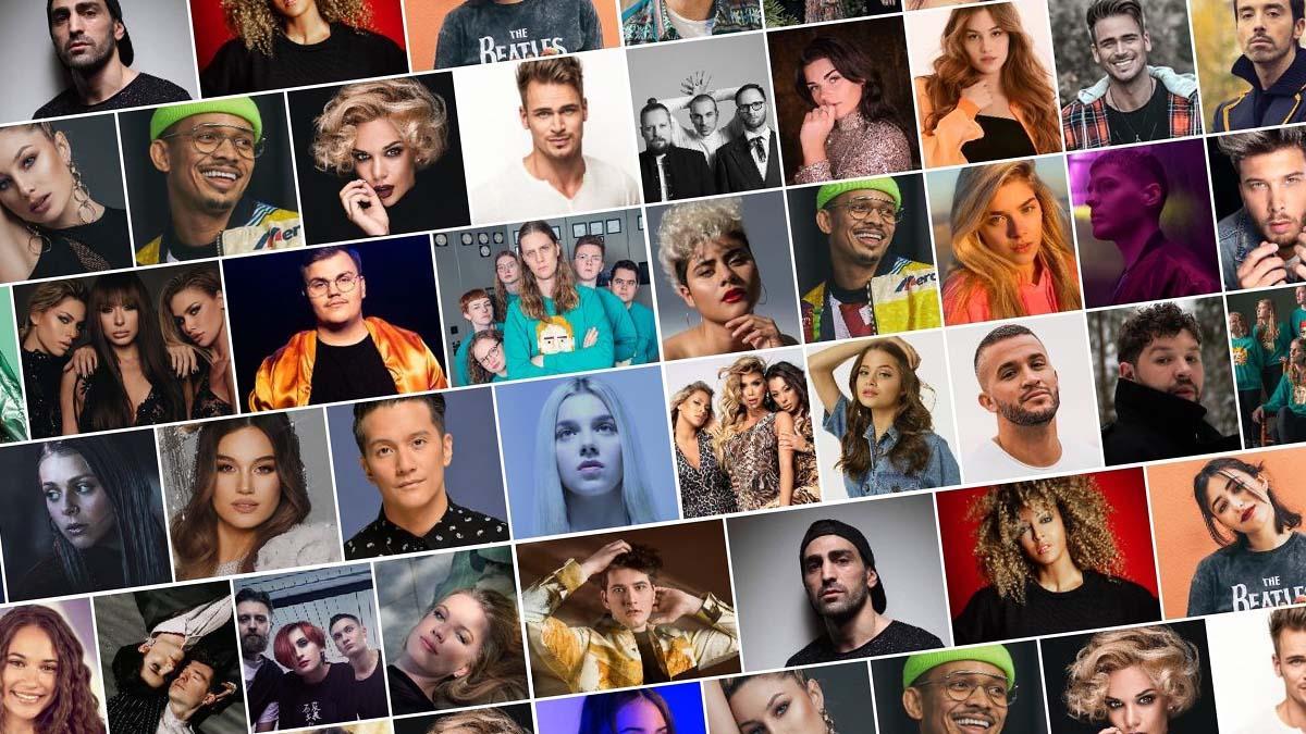 Eurovision 2020 Contestants