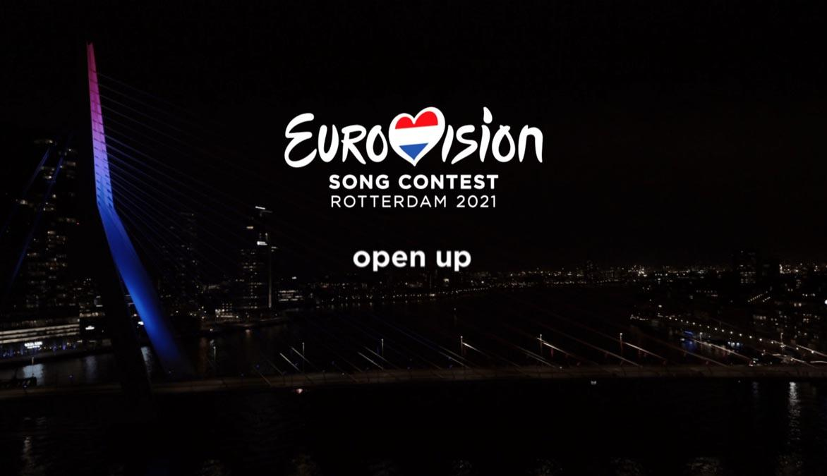 Eurovision 2021 Announcement Open Up slogen
