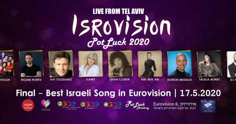 הערב בשעה 21:00: אירוע ה- Isrovision