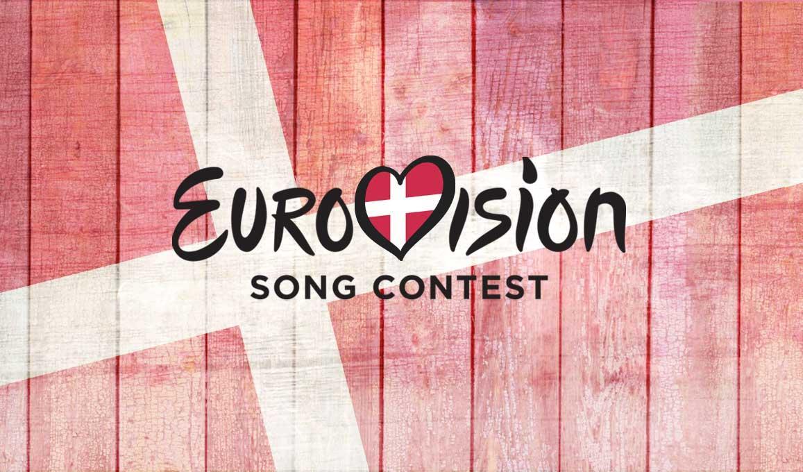 Denmark Eurovoision Logo