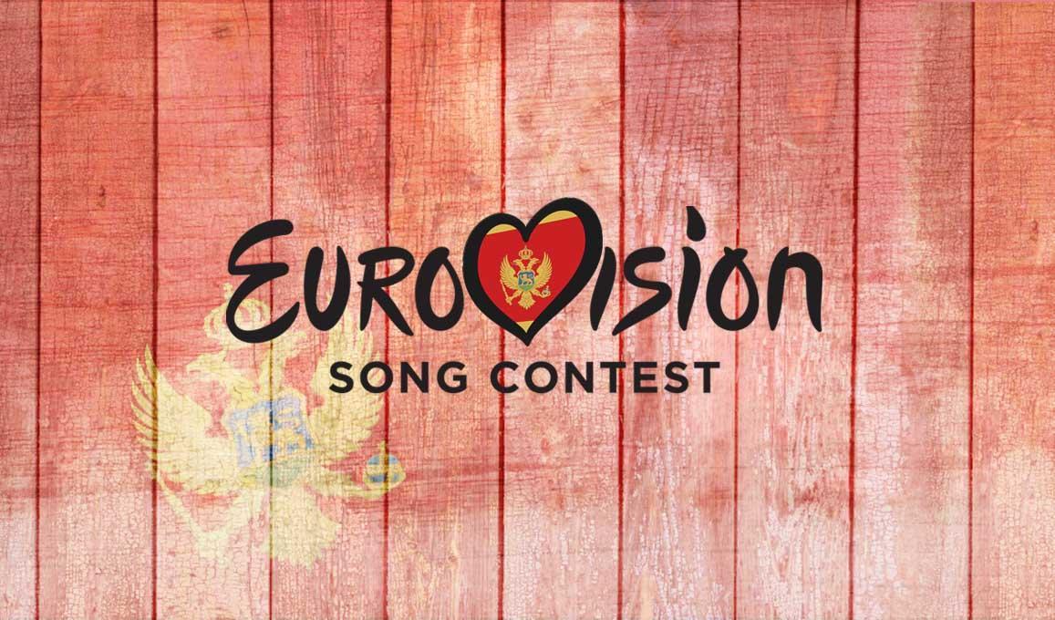 Montenegro Eurovoision Logo