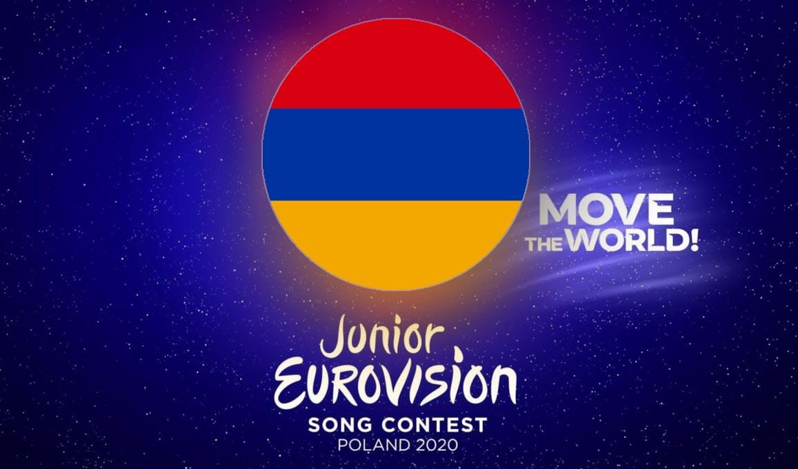 Armenia Logo Junior Eurovision 2020