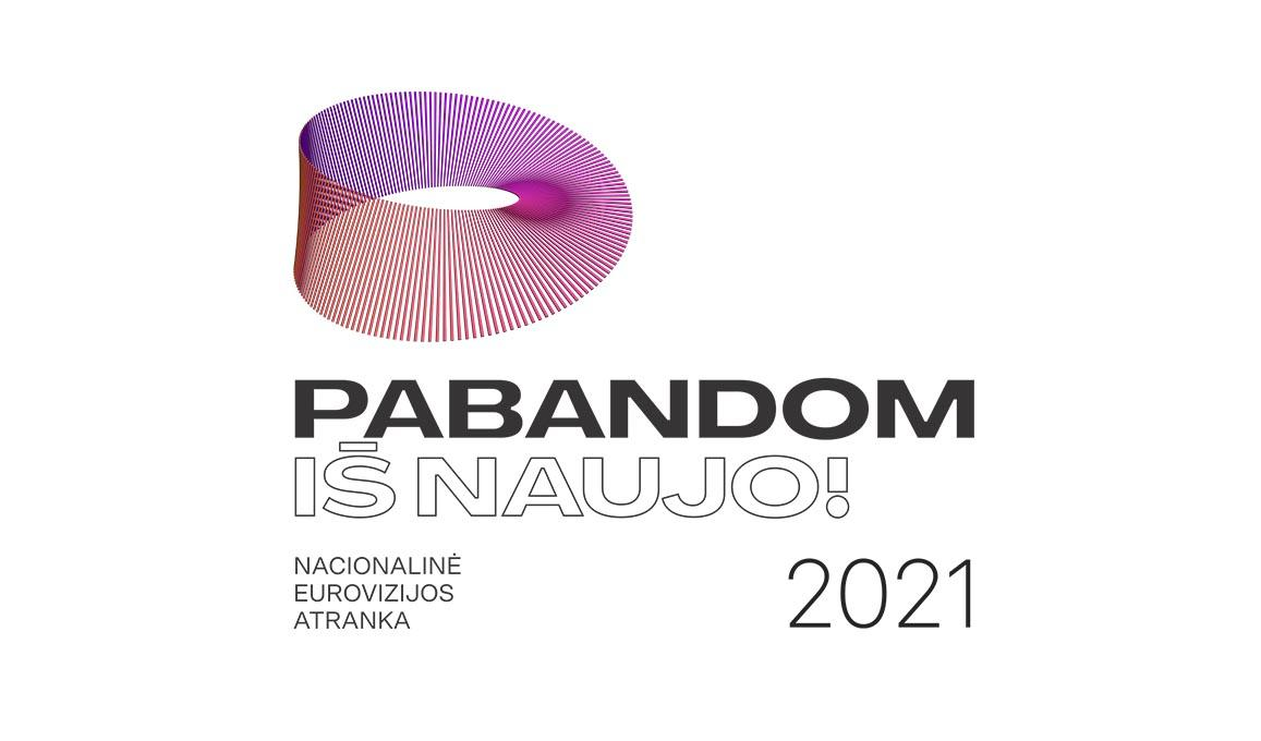 Lithuania Pabandom Is Naujo 2021 Logo