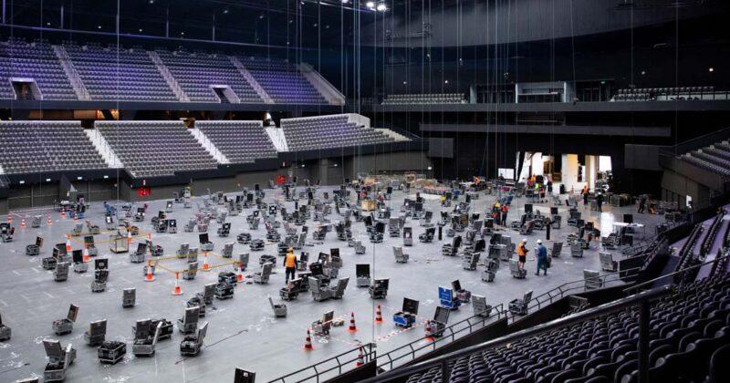 אירוויזיון 2021: בניית הבמה באהוי רוטרדם החלה היום!