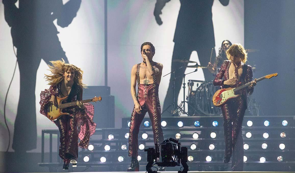 Italy Maneskin Eurovision 2021