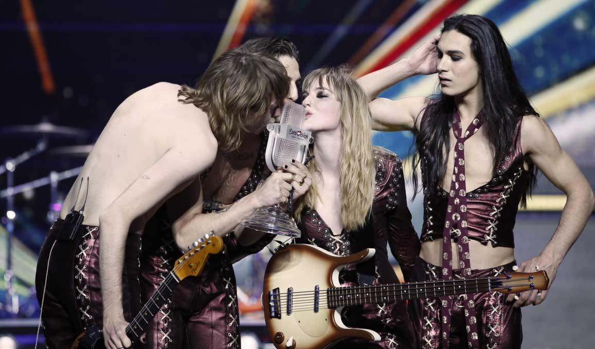 Maneskin Italy Eurovision 2021 Winner 3