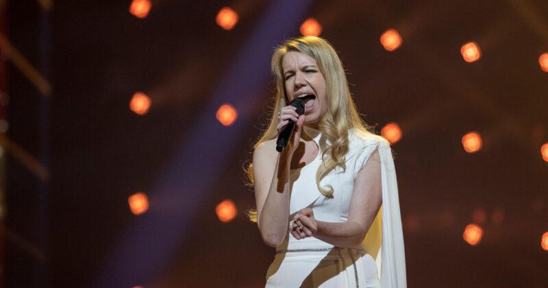 סלובניה בחזרה שנייה: אנה סוקליץ' על הבמה