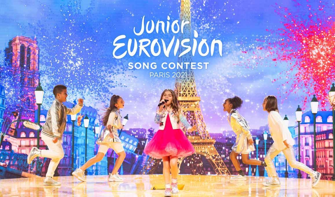Junior Eurovision France Paris 2021